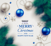 PBM Greetings for Christmas and New Year 2018